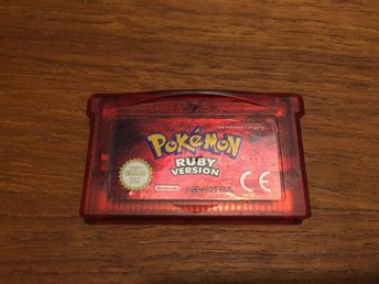 Game Boy Advance - Pokemon Ruby