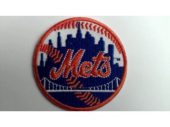 NEW YORK METS patch baseball patch homerun USA Sale REA!