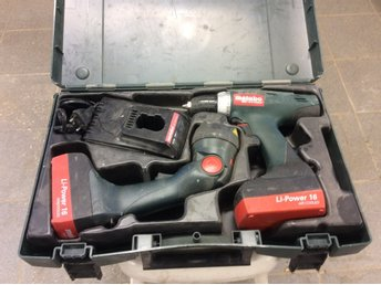 metabo borrmaskin