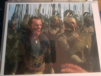 Hugo Weaving autograf
