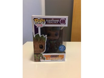 Funko Marvel Pop Guardians of the Galaxy Groot Bobble head figurer