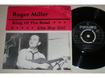 Roger Miller 45/PS King of the road 1965 VG++