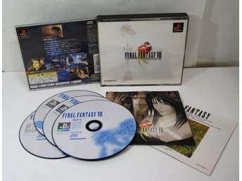 Final Fantasy VIII 8 till japansk Playstation PS1