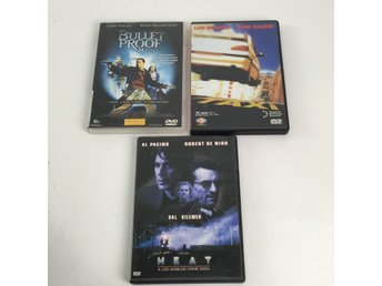 DVD-Filmer, Action, 3 st