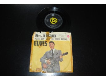 "ELVIS PRESLEY ""PLEASE DONT DRAG THAT STRING AROUND"" 47-8188"