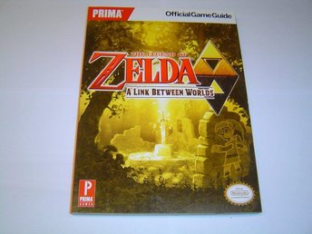 The Legend of Zelda A Link Between Worlds Spelguide Guide Bok *NYTT*