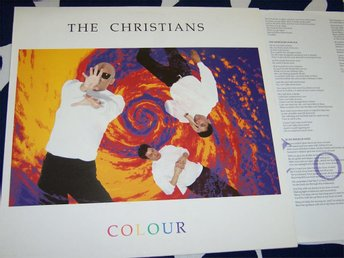 CHRISTIANS THE - COLOUR LP 1990 British soul group