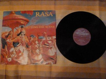 RASA, SETTING THE SCENE, LP, LP-SKIVA