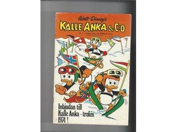 Kalle Anka 8 st 1,3,5,8,12,17,19,21 1974 skick vg - Skoghall - Kalle Anka 8 st 1,3,5,8,12,17,19,21 1974 skick vg - Skoghall