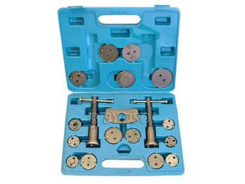Professional 19 Pc Left and Right Hand Brake Caliper Rewind Tool Kit