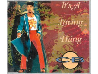 CB Milton - It's A Loving Thing - 1994 - CD Maxi