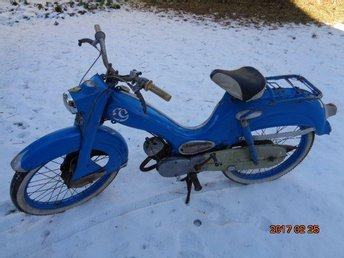 Moped DKW HUMMEL CA 1962-