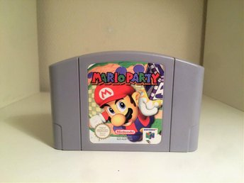 Mario Party - Nintendo 64 / N64 - PAL - Svensksåld