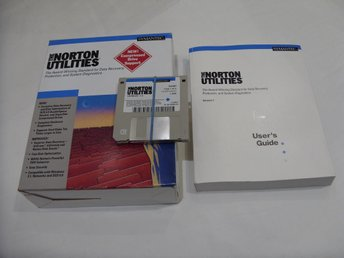 Norton Utilities 7.0 Symantec Vintage Software 1992 Dos Windows PC