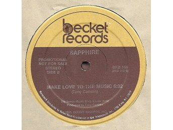 "Sapphire – Rock me slowly / Make love to the music (Becket 12"")"