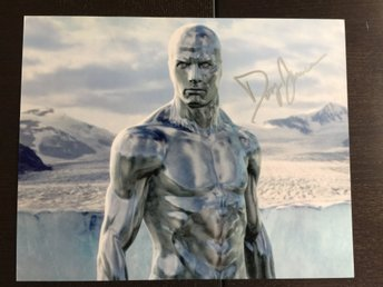 Doug Jones autograf Silver Surfer Fantastic Four Fantaskiksa Fyran