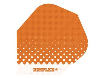 Dimplex Embossed Spotted Orange