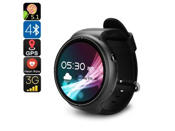 IQI I4 Pro Android Watch Phone - Bluetooth 4.0, WiFi, GPS, 1 IMEI, 3G, Pedometer