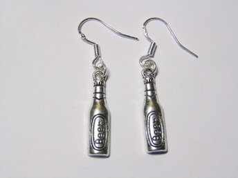 Öl örhängen / Beer earrings