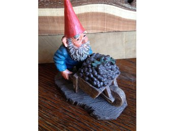 Gnomes Rien Poortvliet original, made in Holland.Trolltyg i tomteskogen.Tiptop!