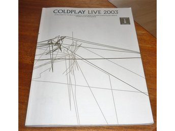 COLDPLAY Live 2003 - Guitar tab edition - 112 sidor - Yellow, Daylight, mm mm