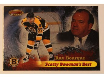 Ray Bourque i 1998-99 Bowman - Scotty Bowmans Best!