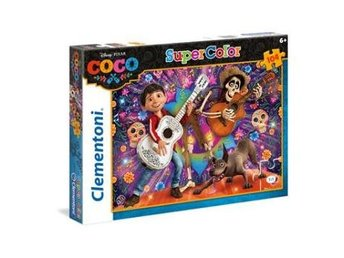 104 pcs. Puzzles Kids SuperColors COCO