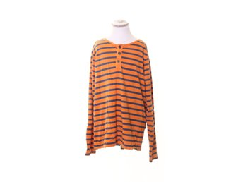 H&M, Tröja, Strl: 158/164, Orange/Blå