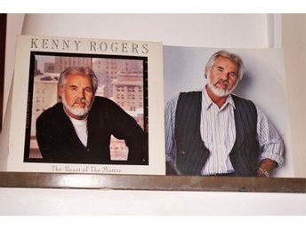 Kenny Rogers - The Heart of the Matter - LP (Vinyl)