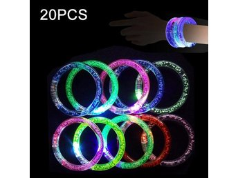 Glowing Party Armband 20st LED belysning