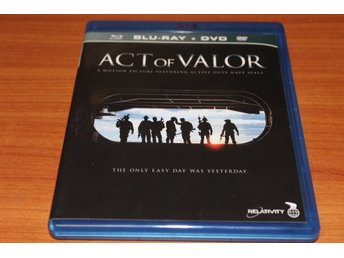 Bluray+DVD-film: Act of Valor