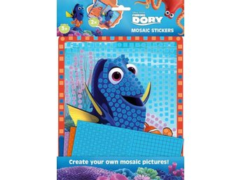Hitta Doris - Finding Dory Kit Mosaic stickers set - Bilder med dekorationer