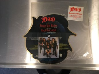 DIO / RARE PICTURE SHAPED DISC / LIMITED EDITION / HUNGRY FOR HEAVEN.DIOP 6.