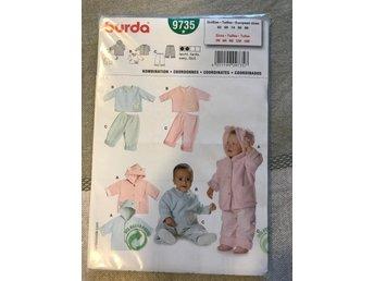 054bea4c7bbf Barn mönster, retro, jacka, byxor (340616306) ᐈ Köp på Tradera