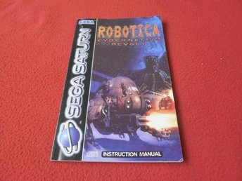 ROBOTICA MANUAL till Sega Saturn