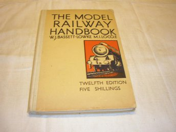 The model railway handbook tryckt 1946  engelsk text