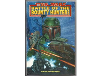 Star Wars: Battle of The Bount Hunters HC Pop-up Book VF/NM