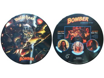 "MOTORHEAD 'Bomber: Extended Play' 10"" picture-disc"