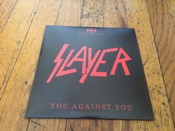 "SLAYER You Against You 7"" RED Vinyl PROMO Single 2016 USA Import RARE"