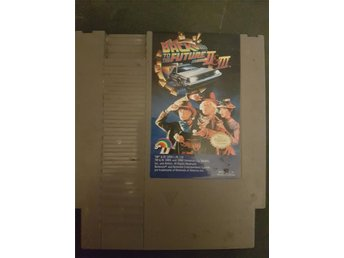 Back to the Future part II & III - NES - USA