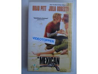 VHS film - The Mexican - Brad Pitt / Julia Roberts