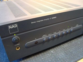 NAD Stereo Integrated Amplifier C320BEE