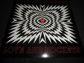 Love And Rockets - S/T - LP - 1989