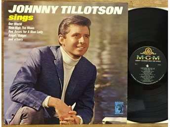 JOHNNY TILLOTSON / sings Our World... -- MGM E4328 - 1965 USA - NM!