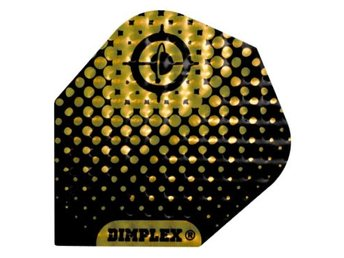 Dimplex Embossed Black And Gold