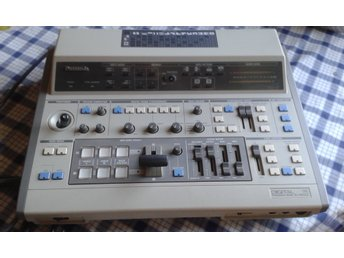 Panasonic WJ-MIX 12, Digital production Mixer, Bild o Ljudmixer + bruksanvisning