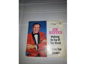 Singel Jim Reeves ‎RCA Victor 47 9526 I Love You Because 1964