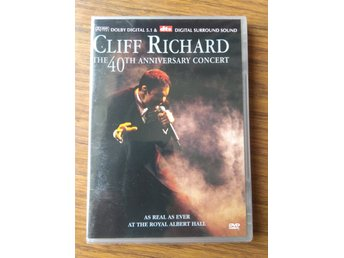 Cliff Richard = the 40th anniversary concert