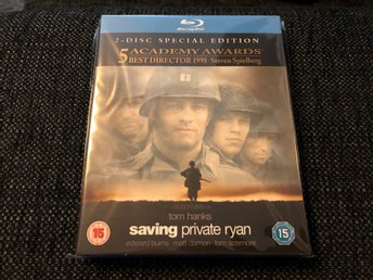 SAVING PRIVATE RYAN (1997, BLU-RAY MED SLIPCOVER)