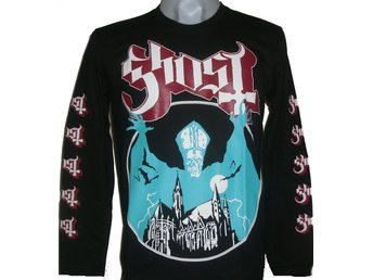 LONG-SLEEVED T-SHIRT: GHOST  (Size L)